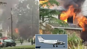 Three People Killed Including Nine-Month-Old Baby Girl As Plane Crashes Into Their Homes 6