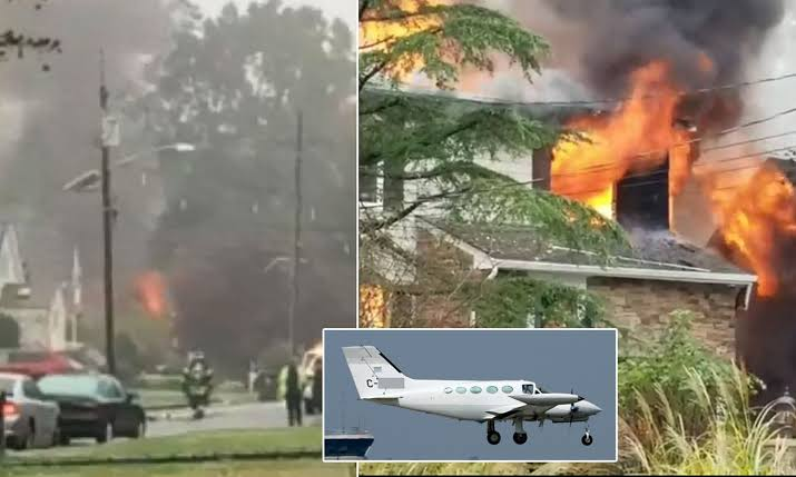 Three People Killed Including Nine-Month-Old Baby Girl As Plane Crashes Into Their Homes 1