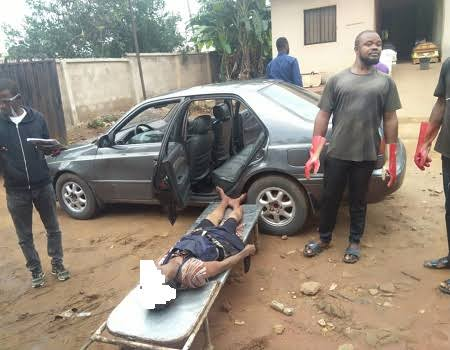 Man Gets Electrocuted To Death By High Tension Cable While Riding Motorcycle In Delta State 1