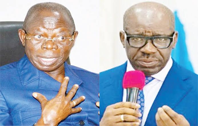 """""""I Sold A Bad Product To Edo People In 2016"""" - Oshiomhole Apologises For Supporting Obaseki 1"""