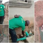 Nigerian Man Builds Soakaway Toilet That Can Generate Gas For Cooking And Electricity [Photos] 27