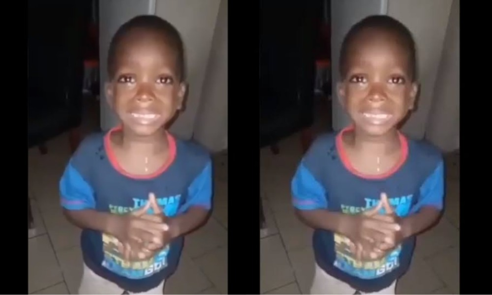 """""""Mummy Calm Down"""" - Nigerian Boy Negotiates His Way Out Of Beating By His Mother [Video] 1"""
