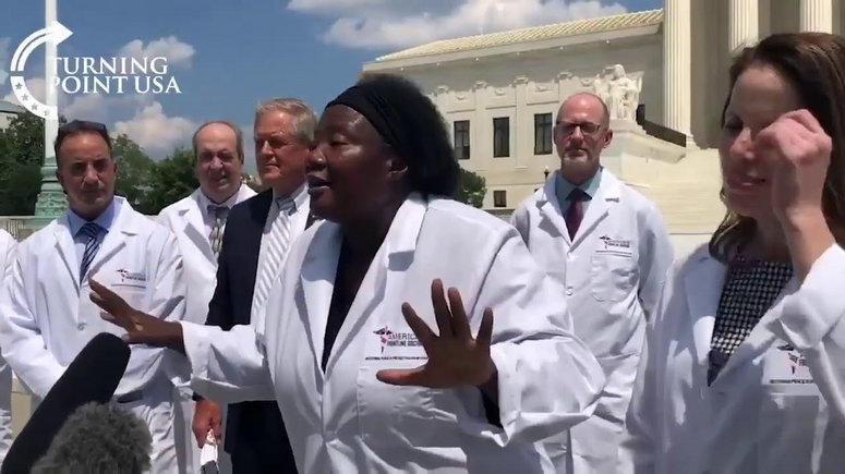 U.S Based Nigerian Doctor, Stella Emmanuel Claims Hydroxychloroquine Cures Coronavirus [Video] 1