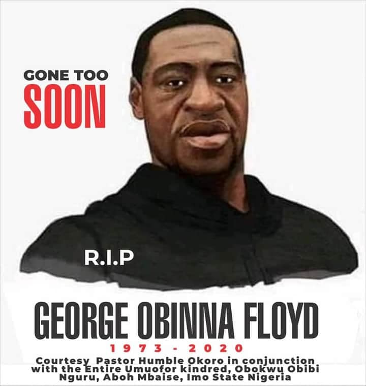 Nigerian Pastor Re-Buries George 'Obinna' Floyd In Imo State [Photos] 1