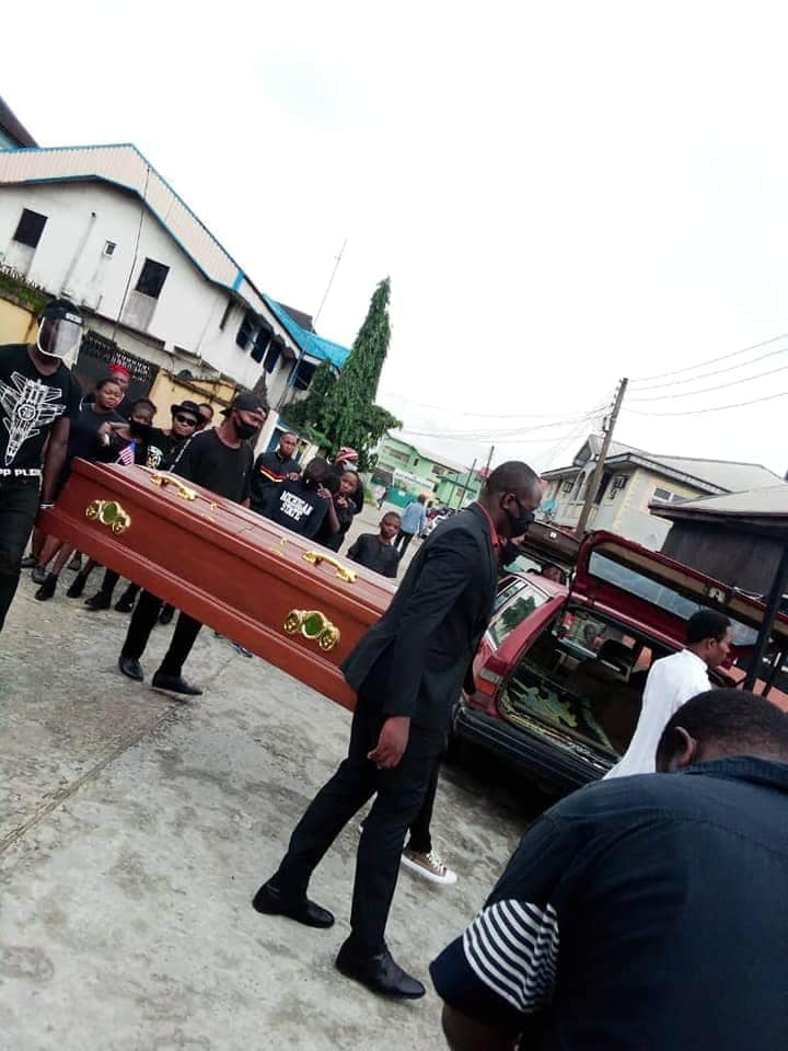 Nigerian Pastor Re-Buries George 'Obinna' Floyd In Imo State [Photos] 2
