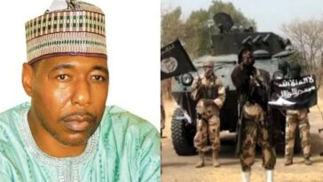 Governor Zulum Escapes Death As Boko Haram Terrorists Attacks His Convoy Again In Borno 3