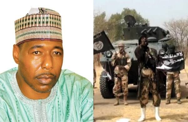 Governor Zulum Escapes Death As Boko Haram Terrorists Attacks His Convoy Again In Borno 1
