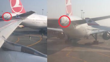 Two Airplanes Collides At Lagos International Airport [Photos] 3