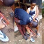 Woman Rescued After Being Chained To A Pillar By Her Abusive Husband In Ebonyi [Photos] 28