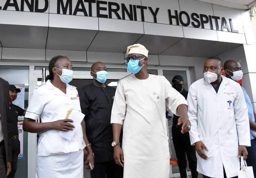 Sanwo-Olu, wife celebrate Eid-el-Kabir with patients, health practitioners at hospitals 1