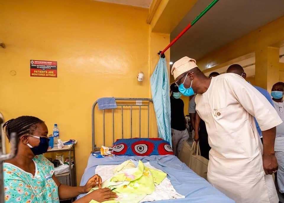 Sanwo-Olu, wife celebrate Eid-el-Kabir with patients, health practitioners at hospitals 2