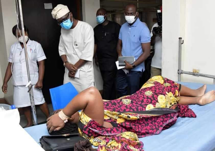 Sanwo-Olu, wife celebrate Eid-el-Kabir with patients, health practitioners at hospitals 5