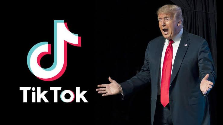 President Donald Trump Says He Will Soon Ban TikTok In United States 1
