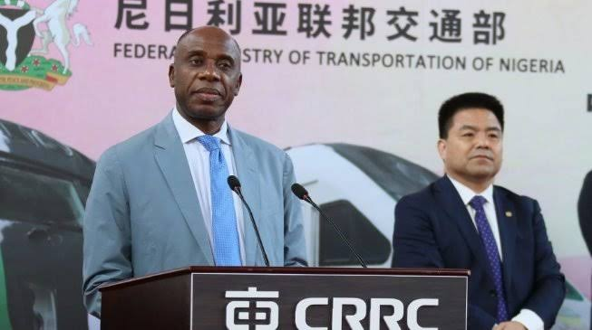 """Nigeria Will Pay China Loan Back In 20 Years"" – Minister Of Transportation, Rotimi Amaechi 1"