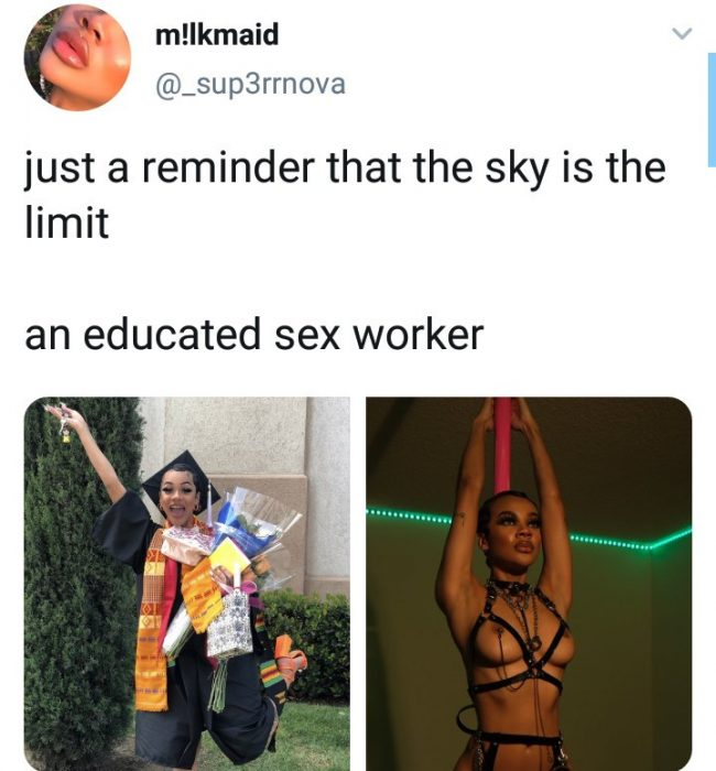 """The Sky Is The Limit"" – Sεx Worker Proudly Says As She Graduates From The University [Photos] 2"