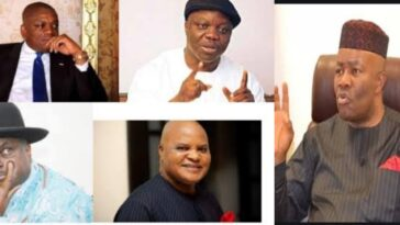 Akpabio Names Orji Kalu, James Ibori, Emma Uduaghan As Beneficiaries Of NDDC Contracts 3