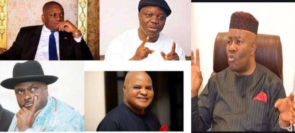 Akpabio Names Orji Kalu, James Ibori, Emma Uduaghan As Beneficiaries Of NDDC Contracts 1