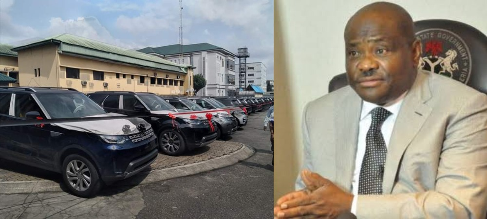 Governor Nyesom Wike Distribute 41 New Range Rover SUV To Judges Serving In Rivers State 1