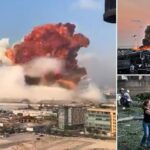 78 Confirmed Dead, Thousands Wounded AsTwo Massive Explosion Rocks Beirut In Lebanon [Video] 27