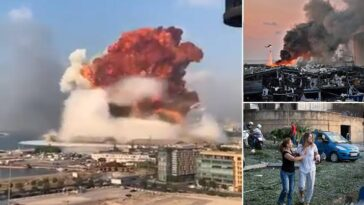 78 Confirmed Dead, Thousands Wounded AsTwo Massive Explosion Rocks Beirut In Lebanon [Video] 7