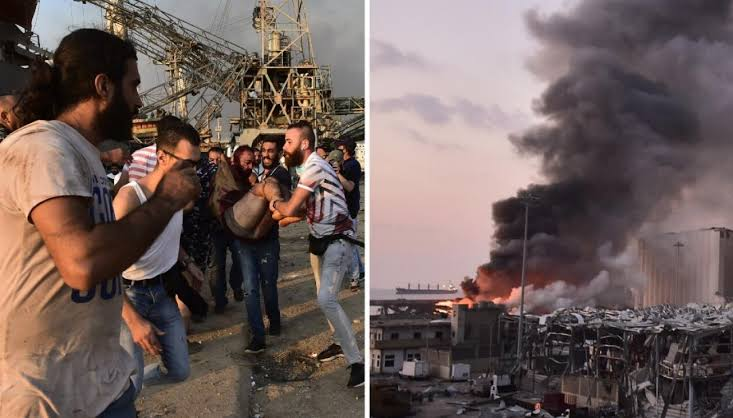78 Confirmed Dead, Thousands Wounded AsTwo Massive Explosion Rocks Beirut In Lebanon [Video] 1