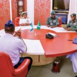 "Insecurity: ""You Are Doing Your Best As Far As I'm Concerned"" - Buhari Tells Service Chiefs 27"