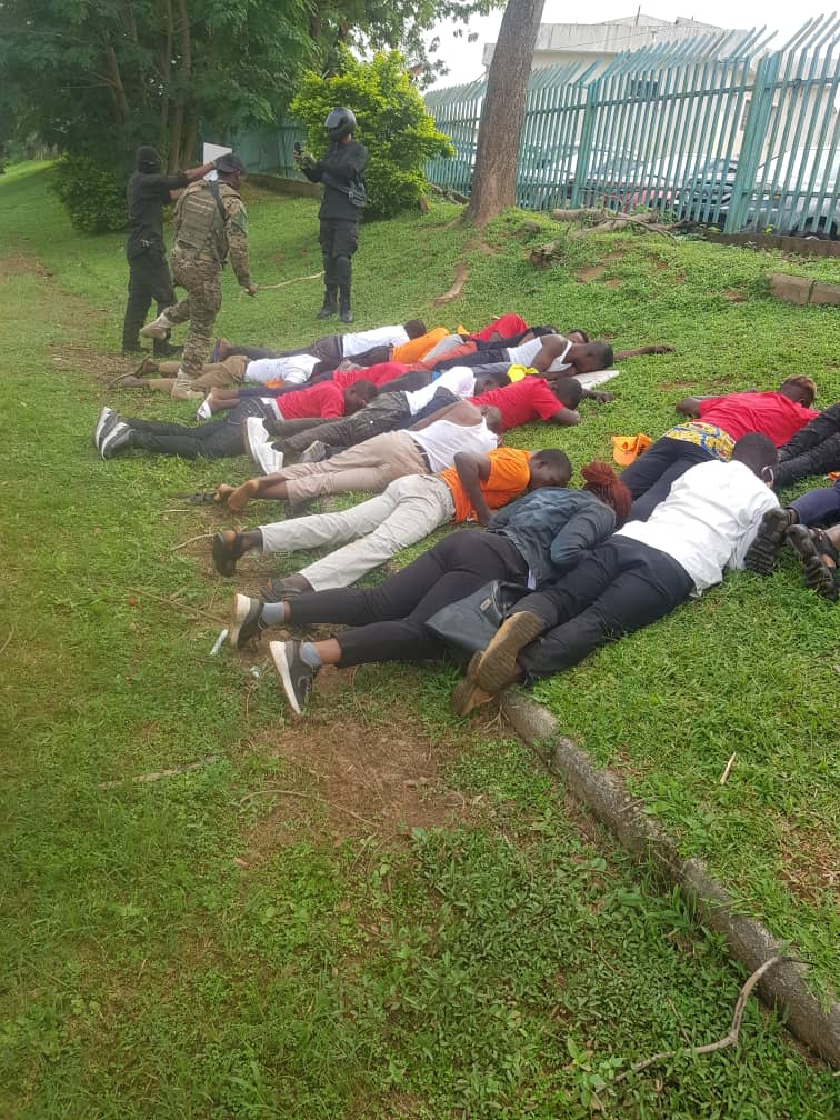 RevolutionNow: Over 60 Protesters Arrested And Subjected To Inhuman Treatment In Abuja [Photos] 3