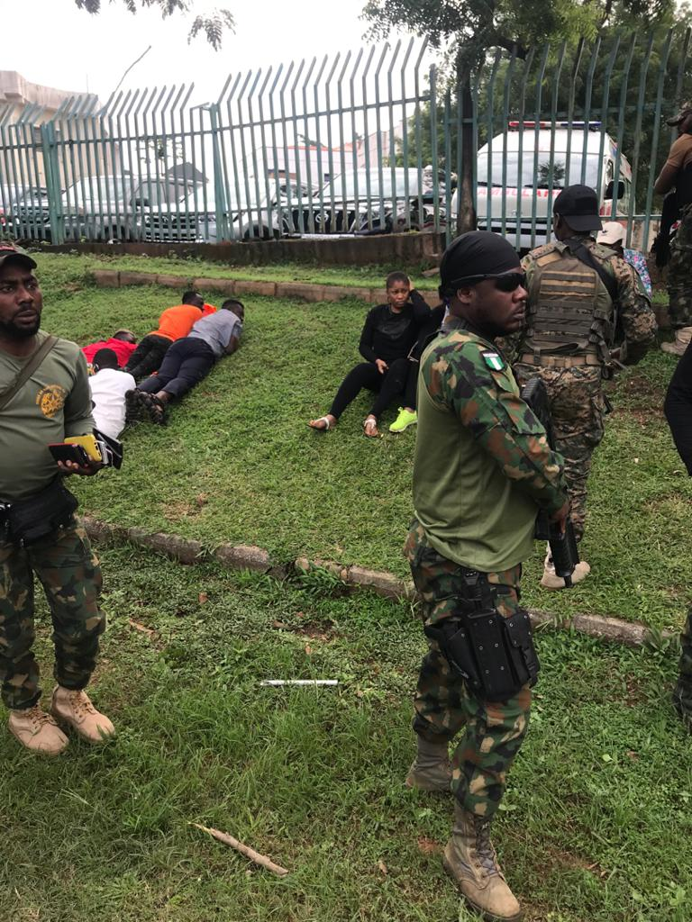 RevolutionNow: Over 60 Protesters Arrested And Subjected To Inhuman Treatment In Abuja [Photos] 4