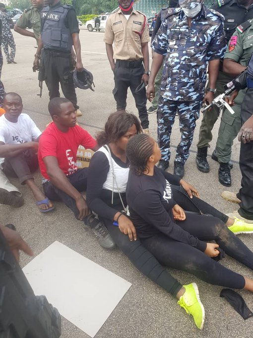 RevolutionNow: Over 60 Protesters Arrested And Subjected To Inhuman Treatment In Abuja [Photos] 2