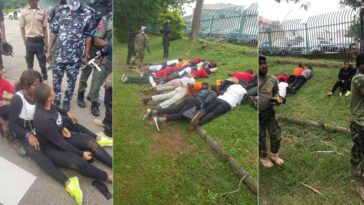 RevolutionNow: Over 60 Protesters Arrested And Subjected To Inhuman Treatment In Abuja [Photos] 6