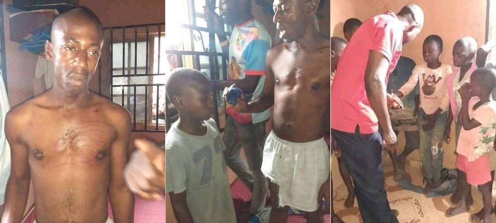 Suspected Ritualist Caught Using 'Handkerchief' To Steal Manhood Of Children In Bayelsa [Photos] 1