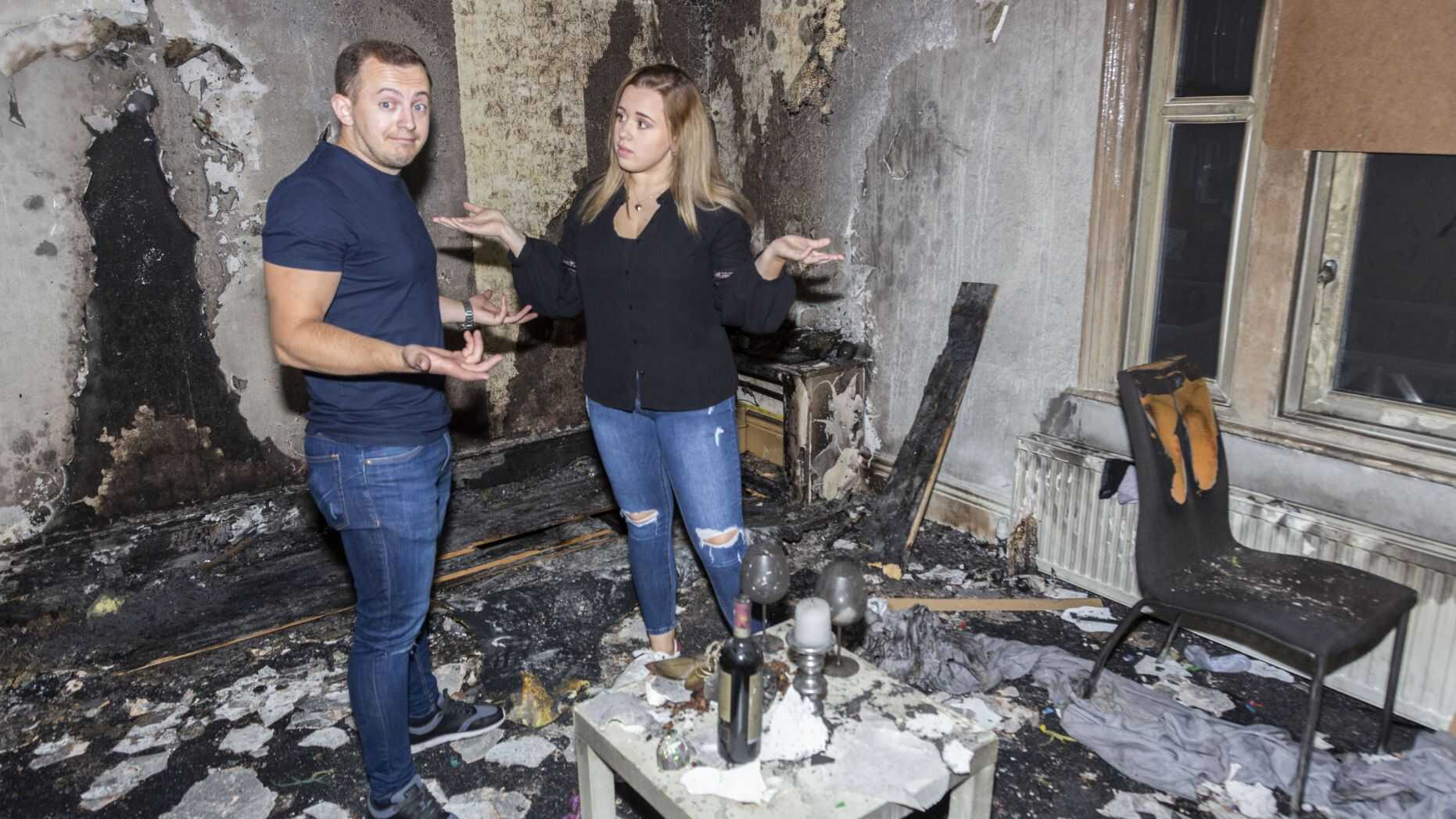 Man Accidentally Burns Down His Apartment As His Romantic Proposal Goes Horribly Wrong 2