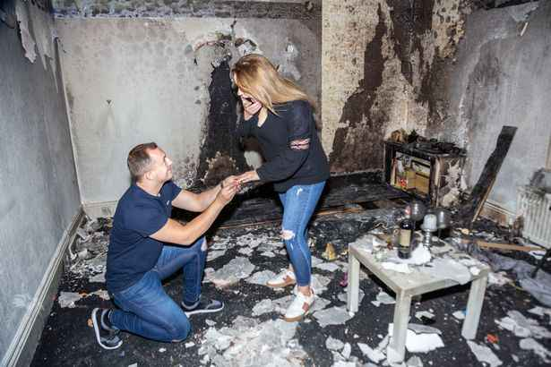 Man Accidentally Burns Down His Apartment As His Romantic Proposal Goes Horribly Wrong 3