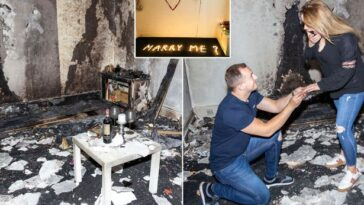 Man Accidentally Burns Down His Apartment As His Romantic Proposal Goes Horribly Wrong 12