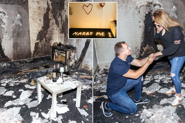 Man Accidentally Burns Down His Apartment As His Romantic Proposal Goes Horribly Wrong 1