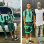Benefitboys: SS3 Students Resumes School In Posh Car & With iPhone, Embarrasses Their Teacher [Video] 27