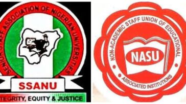 NASU, SSANU: Nigerian University Senior Workers Begin Warning Strike On Monday 1