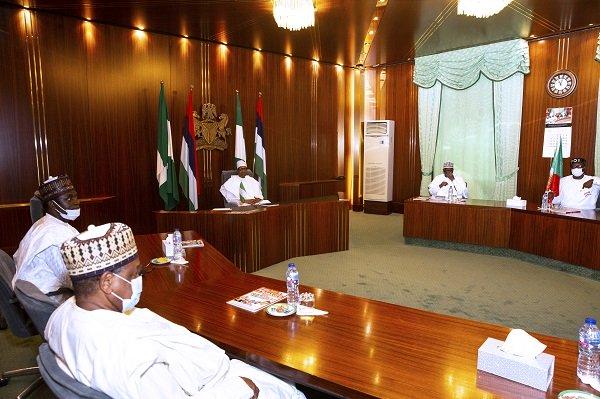 President Buhari Endorses Pastor Ize-Iyamu For Edo Governorship, Hands Over APC Flag [Photos] 2