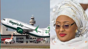 Aisha Buhari Reportedly Flown To Dubai For Urgent Medical Treatment After Her Trip To Lagos 2