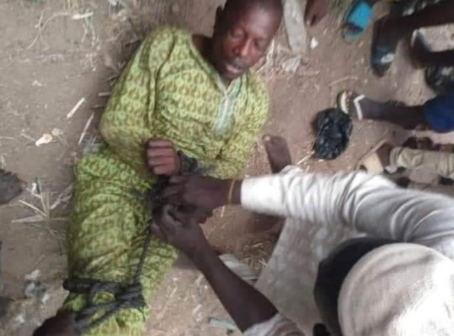 Man Tied Up And Sent Back Home After Abandoning His Wife And Children For Six Years [Photos] 3