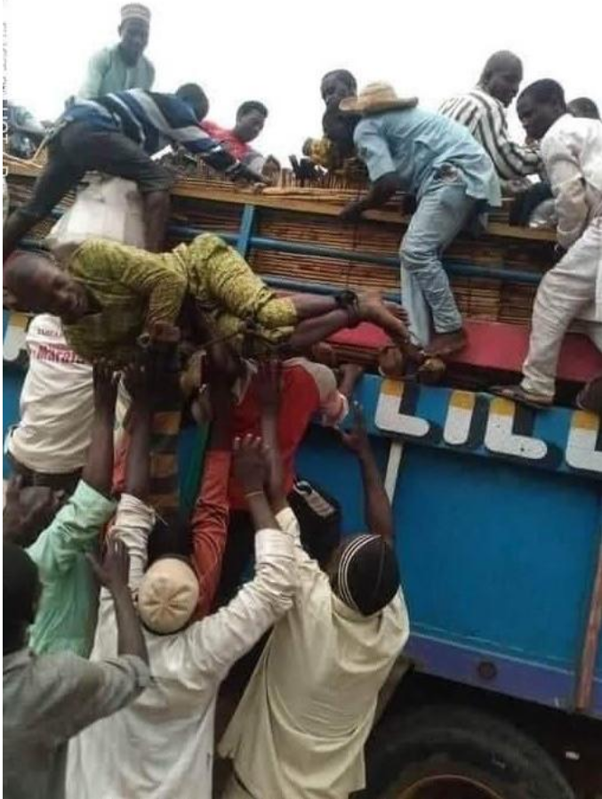 Man Tied Up And Sent Back Home After Abandoning His Wife And Children For Six Years [Photos] 1