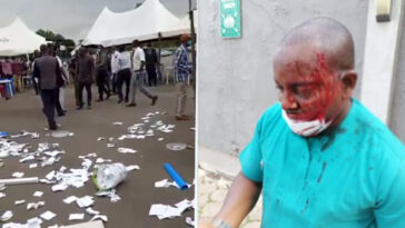 Enugu Doctors' Election Turns Bloody As Thugs Invades Voting Centre 8