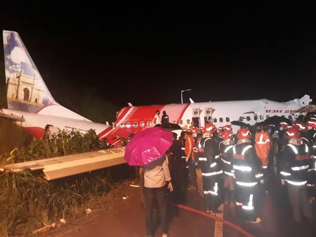 17 People Dies As Indian Repatriation Flight Breaks Into Two While Attempting To Land At Airport 1
