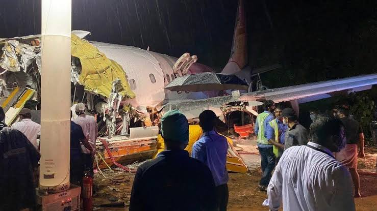 17 People Dies As Indian Repatriation Flight Breaks Into Two While Attempting To Land At Airport 2