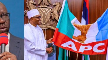Edo Election: I Sympathise With Buhari, He Was Forced To Endorse Ize-Iyamu - Governor Obaseki 3