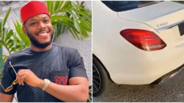 BBNaija's Frodd Gifted A Brand New Mercedes-Benz After Being Mocked For Not Owning A Car [Video] 2