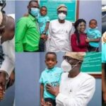 Governor Sanwo-Olu Finally Meets Little Boy Who Asked His Mom To 'Calm Down' In Viral Video 27