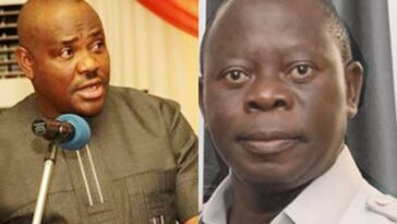 """Edo People Are Better With Obaseki Than A Cultist And Fake Pastor"" — Wike Blasts Oshiomhole 3"