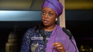 Diezani Madueke Laments The Rise Of 'Yahoo Boys' As Role Models To Nigerian Youths [Video] 3