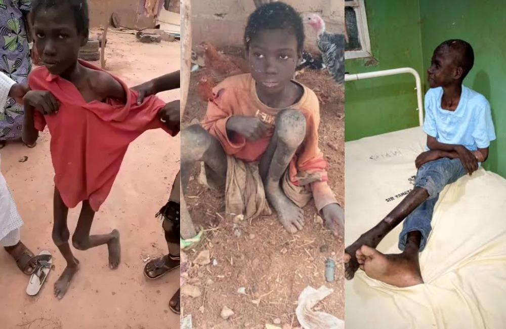 JusticeForJibril: 10-Year-Old Boy Locked Up With Animals For 2 ...
